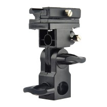 Universal Camera Flash Speedlite Mount Swivel Light Stand Bracket Umbrella Hot-Shoe Holder B Type