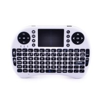 Multifunction 2.4GHz Wireless 92-Key Mini Keyboard w/ Touchpad for XBOX360 PS3 Laptop TV
