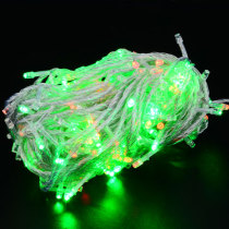 110V 10M 8-Mode 100LED Green String Lights for Christmas Decoration (US Plug) - White