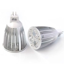 TZX-SL016 MR16 9W DC12V 480-540LM 3-LED Spot Light Bulb White Light 6000-6500K
