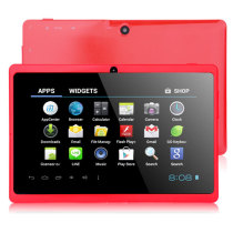 Q88++ Dual Camera 7 inch Capactive Screen Android 4.0 Tablet PC - Red