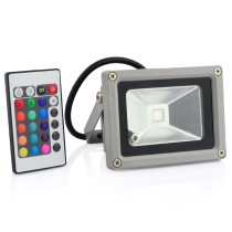 10W 220V RGB Flash LED Flood Light with Remote Control