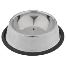 180mm Stainless Steel Food Feeder Dish Serving Bowl Water Container for Cat Dog Pet Caring Item