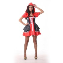 Anime Cartoon Little Red Riding Hood Halloween Party Costume Size Large
