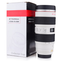 500ML Lens Cup with Stainless Steel Insulated Tumbler (Modeling Canon EF 70-200mm f/2.8L IS USM)