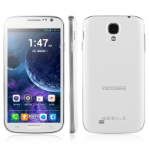 DOOGEE VOYAGER DG300 Smartphone 5.0 Inch Screen MTK6572W Dual Core Android 4.2.2 4GB ROM 512RAM 5.0MP Camera 3G Unlocked GPS - White
