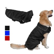 Pet Dog Jacket Coat Waterproof Outwear with Stand-Up Collar