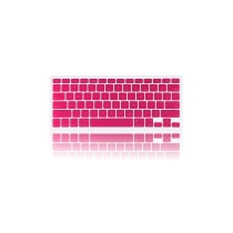 "Best 13.3"" Flexible Silicone Keyboard Skin Protector Cover for Macbook Macbook Pro - Pink"