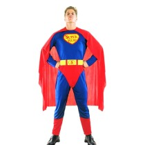Original Cool Superman Costume Adult Halloween Masquerade Party Costume for Men