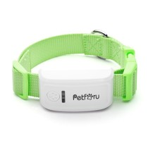 Petforu Pet GPS/GSM Tracker Real Time Locator for Cats/Dogs with Collar (US Plug)