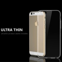 0.3mm Ultra-thin TPU Crystal Clear Case Cover 6 4.7 Inch