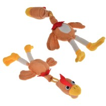 Flying Animal Slingshot Chicken with Crow Sound Toys for Kids