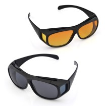 Outdoor Unisex Multifunction HD Vision Wrap Around Sunglasses
