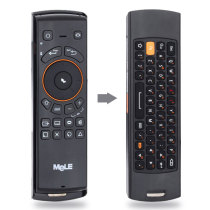 F10 2.4GHz Rechargeable Wireless Mouse/ Wireless Keyboard/ Remote Control - Black