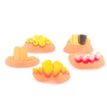 5Pcs Novelty Funny Party Cosmetic Dentures False Teeth
