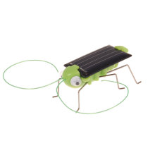 Cute Solar Powered Grasshopper Green