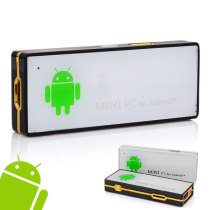 HM-908 Dual Core 1.6GHz RK3066 Mini PC TV Stick w/Android 4.1 HDMI WiFi 1G/4GB - White + Black