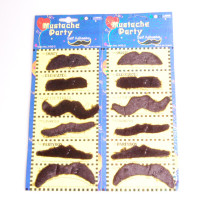 Fashionable Casual Fake Mustache (assorted 12-pack)