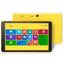 "VOYO A1 Mini Tablet PC Windows 8.1 Intel Z3735D 8.0"" IPS Screen 2GB 32GB Yellow"