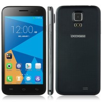DOOGEE VOYAGER2 DG310 Smartphone MTK6582 Quad Core Android 4.4 1GB 8GB 5.0 Inch Wake Gesture OTG - Black