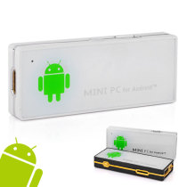 HM-908 Dual Core 1.6GHz RK3066 Mini PC TV Stick w/Android 4.1 HDMI WiFi 1G/4GB - White