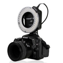 Aputure Amaran AHL-HN100 CRI 95+ LED Macro Ring Video Light Flash Light for Nikon Cameras