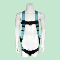 Fall Protection Universal Construction Safety Harness with Leg Tongue Buckle Straps and Side D-Rings and Back Buckle