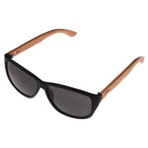 High Chic Unisex Sunglasses of Bamboo Leg with Clear Lens