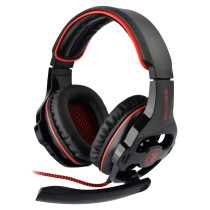 SADES SA-903 Stereo 7.1 Surround Professional USB PC Gaming Headset with Mic & Remoter