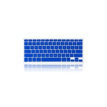 "13.3"" Flexible Silicone Keyboard Skin Protector Cover for Macbook Macbook Pro - Blue"