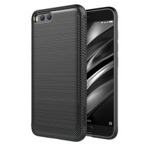 Simple Drop-Resistance Soft Silicone Back Cover Case For Xiaomi Mi6