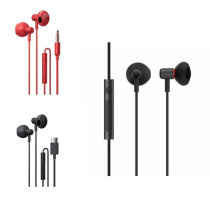 Smartisan S-101 S-102 Semi-in-ear Type-C 3.5mm Wired Control Earphone Headphone With Mic