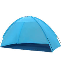 IPRee™ Outdoor Beach Seaside Tent Sunshade Anti-UV Sun Shelter Single Layer Camping Canopy