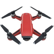Protective Spark Luxury Carbon Fiber Sticker Skin Cover Waterproof Sticker For DJI Spark Spare Parts FPV Drone