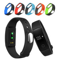 Replacement Silicone Waterproof Strap Watchband for ID107 Smart Heart Rate Wristband
