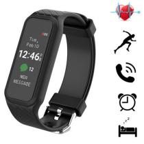 L38i Fashion Men Women Sport Wristband OLED Color Touch Screen Smartphone Alerts Smart Watch