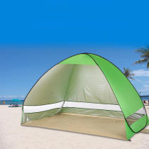 IPRee™ Outdoor Double Beach Tent Sunshade 2 Persons Quick Automatic Open Waterproof UV Sun Shelter Canopy