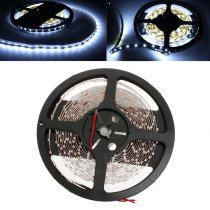 5M White 3528 SMD LED Strip Light Non-Waterproof 12V DC 300 LED