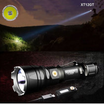 Klarus XT12GT XHP35 HI D4 1600LM Magnetic Charging Tactical Ourdoor LED Flashlight