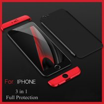 Bakeey™ 3 in 1 Double Dip 360° Full Protection Hard PC Cover Case for iPhone 6Plus & 6sPlus 5.5 Inch