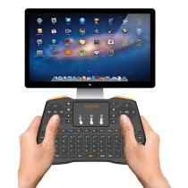 Mini Bluetooth Wireless Keyboard Touchpad Mouse For Macbook Laptop Tablet Projector Smart TV Box