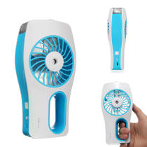 Mini Humidifier Cooling Fan USB Rechargeable Handheld Mist Water Sprayer