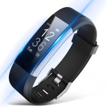 ID115 Plus Real-time Heart Rate Sleep Monitor Fitness Smart Wristband Bracelet for IOS Android