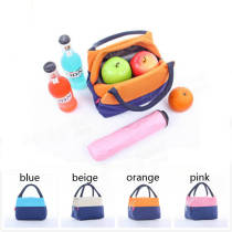 Portable Waterproof Oxford Insulation Lunchbox Bag Cooler Picnic Bag Travel Supplies