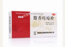 MaYingLong Musk Hemorrhoids Ointment Suppository (12 Pieces/Box)