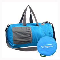 Superlight promotional polyester travel waterproof duffel bag