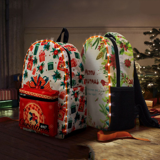 Christmas Led Backpacks