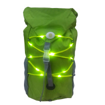 LED Turn  Light Backpack Sport Outdoor Waterproof for Safety Night Cycling / Running / Walking