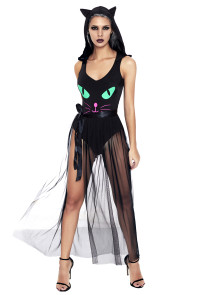 Pretty Kitty Bodysuit Cosplay Costume