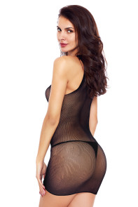 Black Straight up Chemise